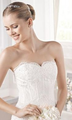 La Sposa Eudora: buy this dress for a fraction of the salon price on PreOwnedWeddingDresses.com