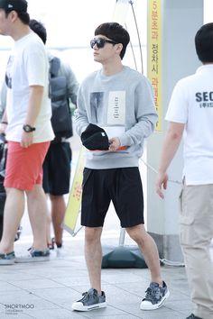 150911 EXO Chen | Incheon Airport to Chongqing