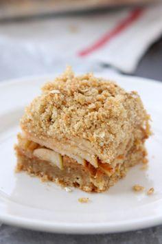 Apple Peanut Butter Oatmeal Bars
