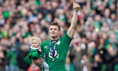 Ireland's greatest sporting legend Brian O'Driscoll says farewell Irish Rugby, Six Nations, Rugby Players, Famous Celebrities, Superstar, Ireland, Sayings, Couple Photos, Sports