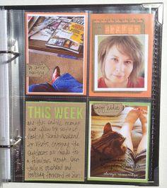 Sn@p! Binder Pocket Page by Kristine Davidson