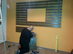Construction: TV Wall by Jimmy Korovesis !!!