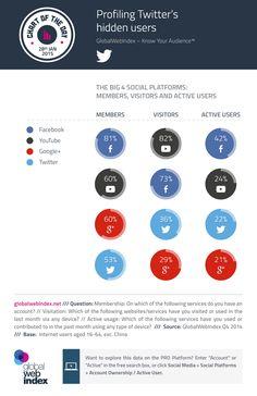 Los usuarios ocultos o las audiencias indirectas en las redes sociales