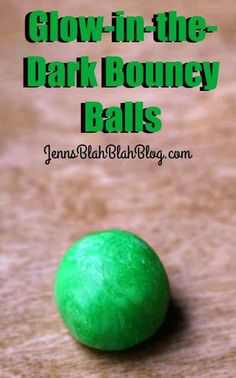 This colorful glow-in-the-dark bouncy balls project is a keeper. Science Crafts, Science Projects, School Projects, Projects To Try, Glow Party Food, Bouncy Ball, Family Activities, Travel Activities, Cool Pools