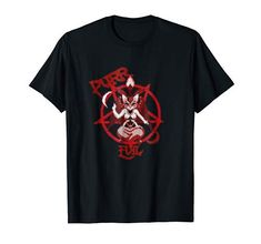 Purr Evil cat pentagram satanic funny cat gift retro pixel T-Shirt Amazon T Shirt, T Shirts Uk, Cat Gifts, Retro, Satan, Pixel Art, Funny Cats, Cool, Mens Tops
