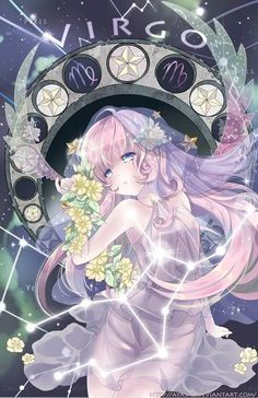 virgo [Zodiac Constellations] by Ayasal Anime Body, Manga Anime, Chibi Anime, Anime Kawaii, Manga Art, Anime Zodiac, Zodiac Art, Zodiac Signs, Virgo Art