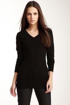V-Neck Long Sleeve Sweater