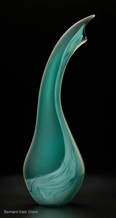 The Salinas by Bernard Katz Glass  shown in Jade http://www.katzglassdesign.com/jade_sculpture