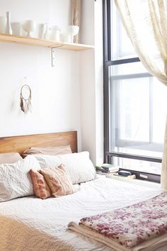 Pretty bedroom.