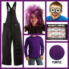 Boys Purple Minion Costume for Dylan. All items available on Amazon. Boys toddler purple  sc 1 st  Pinterest & 32 best Purple Minion Costume Ideas images on Pinterest | Minion ...