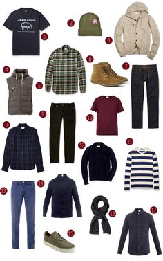 Fall Essentials for Men   The Effortless Chic