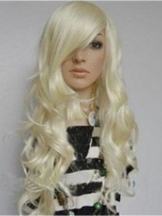 Popular Long Curly Capless Synthetic Hair Wig about 22 Inches  Original Price: $85.00 Latest Price: $47.49