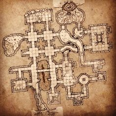 Inked Adventures Dungeon Sections : Photo