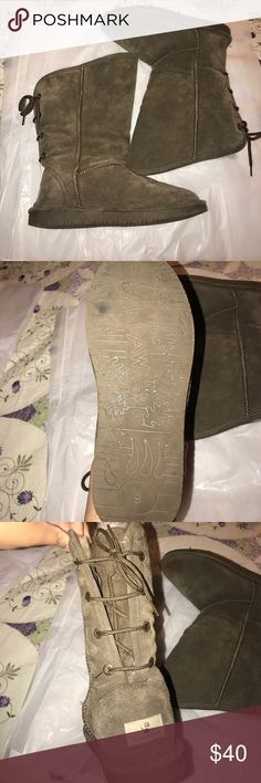BEARPAW TALL BOOTS Like new worn very few times! BearPaw Shoes Winter & Rain Boots