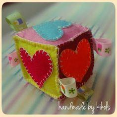 taggie cube for baby http://media-cache6.pinterest.com/upload/91760911127746153_c7D3S6AH_f.jpg kikiemeralda felt craft