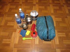 Ultralight Backpacking Gear List - Cooking & Drinking
