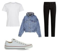 """Sin título #3"" by louis-arumy on Polyvore featuring KURO, Converse, Fear of God, men's fashion y menswear"