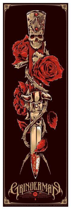Ken Taylor's Grinderman Poster (Onsale Info)