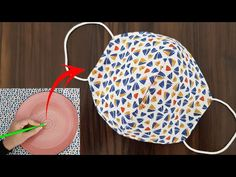 Make Fabric Face Mask at Home / DIY Face Mask With Sewing Machine / Easy Face Mask Pattern ! I have made a fabric face mask video tutorial. In this simple face mask sewing video, I have included… Sewing Tutorials, Sewing Crafts, Sewing Projects, Sewing Patterns, Sewing Diy, Easy Face Masks, Diy Face Mask, Simple Face, Diy Couture