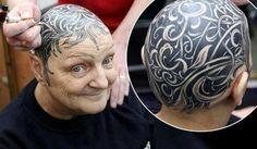 Белые татуировки!