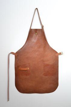 SALE Apron Leather Tan