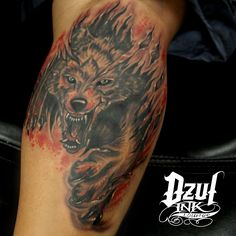 """Straddle the line in discord and rhyme I'm on a hunt down after you. Mouth is alive with juices like wine And I'm hungry like the wolf"" #DuranDuran #hungrylikethewolf #tbt #calftattoo #80srock #riptattoo #dzul #dzulink #dzultattoo #dzulinklounge #seattle #seattletattoo #downtownseattle #belltown #emeraldcity"