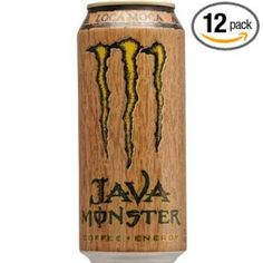 I'm learning all about Monster Energy Drink Loca Moca at @Influenster!