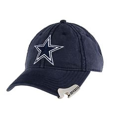Dallas Cowboys Big Star Navy Bottle Opener Hat.....seriously?