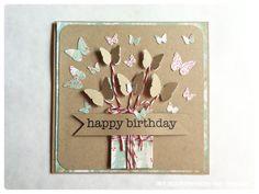 Le Creazioni di Kiara: Card... HAPPY BIRTHDAY with butterflies