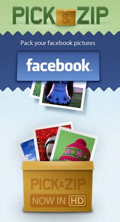Download Facebook Pictures and Videos - PickNZip