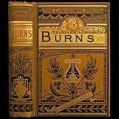 1885 ROBERT BURNS POEMS RARE ILLUSTRATED VICTORIAN GILT FINE BINDING ENGRAVINGS