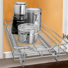 Lynk® Roll Out Double Shelf - Pull Out Two Tier Sliding Under ...