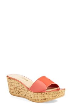 Callisto 'In the Bag' Wedge Platform Sandal (Women) available at #Nordstrom Available in beige
