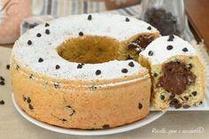 La Ciambella cookie alla Nutella e' una torta da colazione o da merenda davvero semplice da preparare che ha un cuore alla nutella perfetto