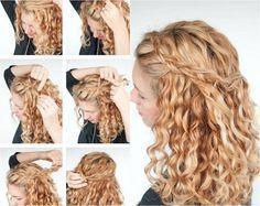 40 Best Frisuren Für Naturlocken Images On Pinterest Easy