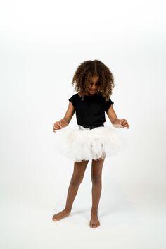 HELGA SoLRUN KIDS layered tutu Skirt using ripstop, tulle, and cotton  detailed…