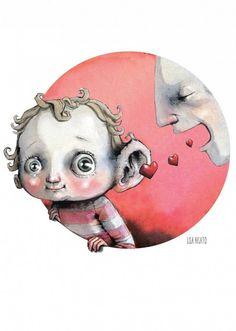 OM samspill i DBMagasinet Cartoon Drawings, Fantasy Fairy, Shape Art, Drawings, Illustration Art, Baby Illustration, Art, Fantasy Art Children, Art Journal