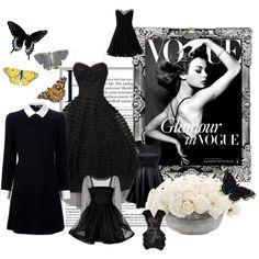 """""""Little black dress"""" by splendourandrouge on Polyvore"""