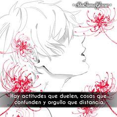 Hay actitudes #ShuOumaGcrow #Anime #Frases_anime #frases