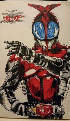 Kamen Rider Kabuto by Sato