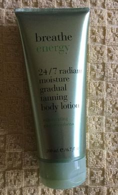 1 Bath & Body Works BREATHE ENERGY 24/7 RADIANT MOISTURE GRADUAL TANNING LOTION  | eBay