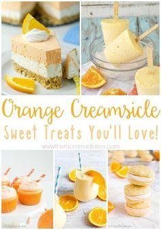 Creamsicle Recipes,