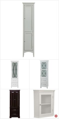 Shop Target for linen cabinet you will love at great low prices. Free shipping on orders of $35+ or free same-day pick-up in store. Half Bathroom Decor, Guest Bathroom Remodel, Bathroom Renos, Bathroom Renovations, Small Bathroom, Home Renovation, Home Remodeling, Master Bathroom, Bathroom Ideas