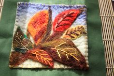 Blog post at Waldorf Moms :       I love wet felting and I'm taking a class with my dear teacher, Liza Hamilton at our art museum school this summer. We s[..]