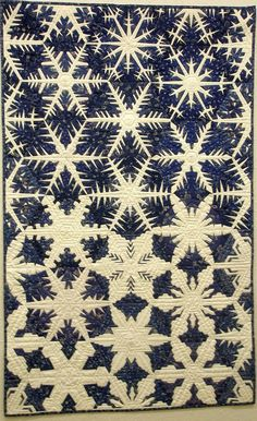 Snowflake quilt, photo by Meg Baier, Patchworktage Dortmund 2010 (Germany)