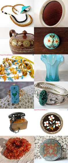 Sunday Afternoon - gvsteam Got Vintage Shops Team Treasury  by Angie Sandoval on Etsy--Pinned with TreasuryPin.com