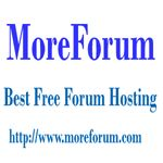 """MoreForum invites anyone to create an account and build their own forum for free.  if you already have a domain registered and you want it to come """"alive"""" with a forum, then we give you the easy step to transfer your domain to our hosting servers.Create a free forum : http://www.moreforum.com/"""