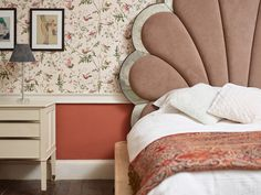 Period Living, Eco Friendly Paint, Paint Colours, Nature Paintings, Brick, Couch, Blanket, Dressing Room, Bedroom
