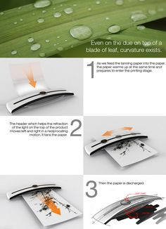 Tanning Printer by Hosung Jung, Junsang Kim, Seungin Lee & Yonggu Do » Yanko Design