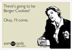 Berger Cookies, Bergers Cookies, Baltimore Cookies